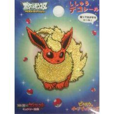 Pokemon Center 2013 Flareon Embroidered Sticker