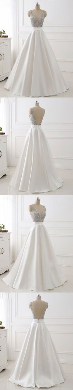 Ivory prom dresses with beaded bodice,long prom dresses,long pageant dresses,#sheergirl,#prom