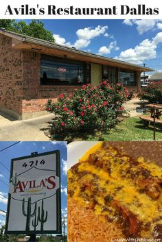 Best Tex-Mex in Dallas! Avila's was featured on Diners, Drive-Ins, and Dives. Located in the home the owner grew up in this is a must stop for foodies in Dallas!