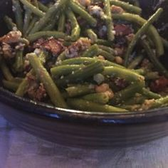 Green Beans with Blue Cheese - Allrecipes.com