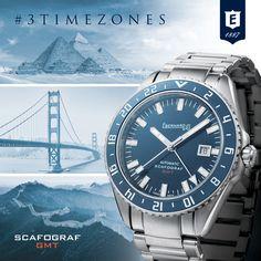 Scafograf GMT #ALLAROUND #3TIMEZONES #enjoyyourtime #journey #scafografGMT #eberhard_co #eberhardwatches #eberhard