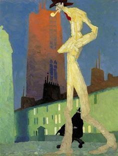 The White Man - Lyonel Feininger