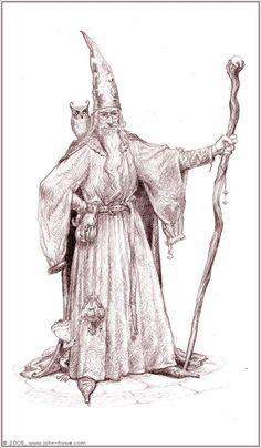 John Howe - Western Wizard - Wizardology