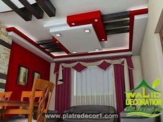 Know The Advantages Of Carpet Flooring And False Ceiling - False Ceiling Ideas - Drawing Room Ceiling Design, Pvc Ceiling Design, Simple False Ceiling Design, Plaster Ceiling Design, Interior Ceiling Design, Ceiling Decor, House Arch Design, Front Wall Design, Hall Design