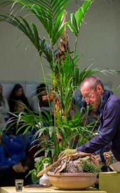 """Die große Live-Show """"Pflanze des Monats"""" von Fachverband Deutscher Floristen e.V./FDF und Blumenbüro mit FDF-Kreativ-Direktor Manfred Hoffmann."""