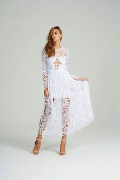 belle & paige - alice McCALL Burning Love Dress —