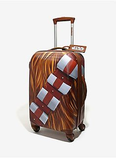 Punch it, Chewie! | Chewbacca Rolling Luggage