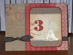 Eiffel Tower Fan Fair by Christy S. - Cards and Paper Crafts at Splitcoaststampers