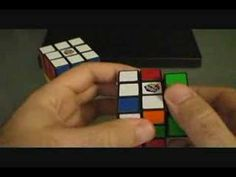 How to solve One-Side-Only on Rubik's Cube - http://www.thehowto.info/how-to-solve-one-side-only-on-rubiks-cube/