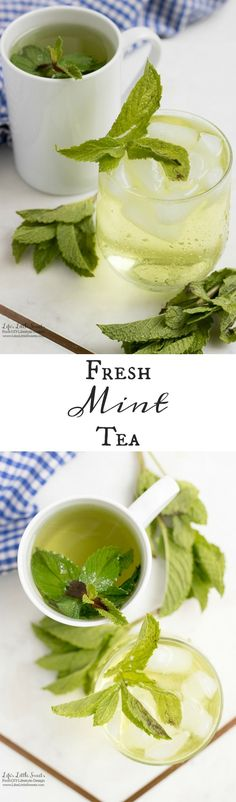 #Ad - This Fresh Mint Tea recipe is light, so easy to prepare and delicious to enjoy. All you need is fresh mint leaves, boiling water and a few minutes and then you can be some Fresh Mint Tea! Enjoy hot or cold. #ForWhatMattersMost #CollectiveBias @target www.lifeslittlesweets.com