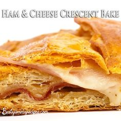 Ham and Cheese Crescent Bake – Food Recipes
