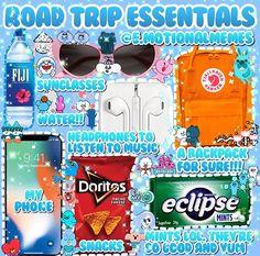 pinterest↠ madi moody Road Trip Checklist, Travel Packing Checklist, Road Trip Packing List, Travel Bag Essentials, Travel Necessities, Road Trip Essentials, Road Trip Hacks, Travelling Tips, Road Trips