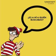 ¿Es a mi a quién buscabas? Wally http://www.estudiantes.info