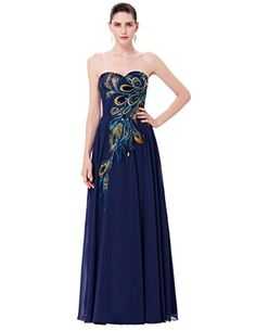 Long Strapless Ball Gown Dresses Dark Navy Cheap Size 10 * To view further for this item, visit the image link.
