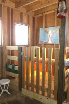 Birthing Suite (with gate shut)