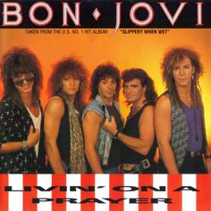 """Pin for Later: The Ultimate '80s Wedding Reception Playlist """"Livin' on a Prayer"""" by Bon Jovi"""