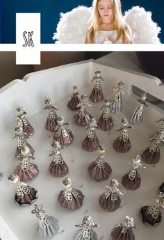 Angel Crafts, Christmas Decorations, Christmas Ornaments, Coffee Pods, Creative Words, Jewelry Crafts, Projects To Try, Creations, Diy Crafts