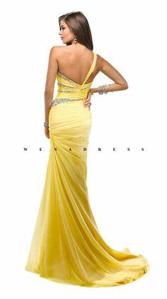 prom dress,prom dresses #yellow dress