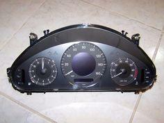 03-06 MERCEDES E500 E350 SPEEDOMETER INSTRUMENT CLUSTER w/154K