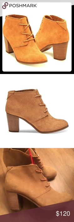 745c6b7e8d3 Shop Women s Toms Brown Tan size 7 Ankle Boots   Booties at a discounted  price at Poshmark. TOMS Wheat Lunata Booties