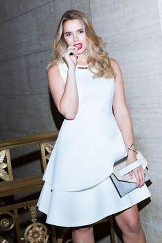 Studio Bonded Pique Dress | Women's Plus Size Fashion | ELOQUII