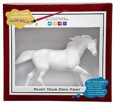Trail of Painted Ponies - Paint your own Pony Figurine