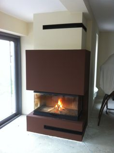 Krbová vložka v realizácií firmy KRBEX s.r.o.  eshop.krbex.sk  #krb #fireplace