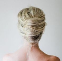 A week of buns!  Saturday: The Messy French Twist @ lulilooafternoon.com