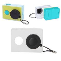 Transparent Housing Case Shell Lens Cover Lens Cap Protective For Xiao Yi Camera #UnbrandedGeneric