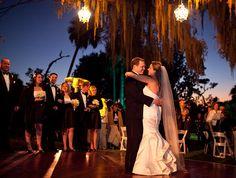 Bok Tower Gardens wedding, wedding chandeliers outside, black and white wedding, Swanky I Do's, Stephanie Fleisher, Orlando Wedding Planner