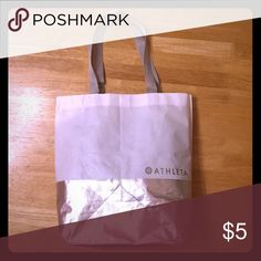 "Reusable bag, Athleta, H 12.5"" L 13"" W 4.25"" Free Athleta reusable bag with $30 purchase. Please request the bag. Athleta Bags Mini Bags"