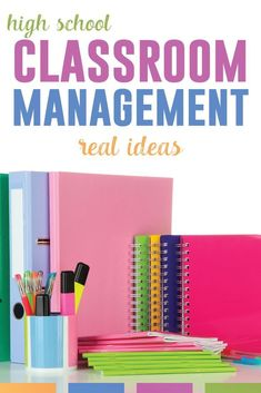 Classroom management for high school classes - real ideas from a real teacher. Implement these routines and practices from the start of the school year. #ClassroomManagement #HighSchoolTeacher