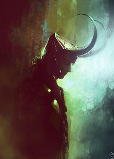 Tom Hiddleston as Loki by Claudia