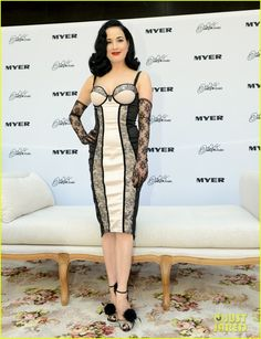 Dita Von Teese Debuts New Lingerie Collection In Melbourne! | dita von teese debuts new lingerie collection in melbourne 05 - Photo