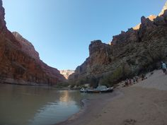 2014 Hatch Expedition rafting Colorado River thru Grand Canyon GoPro - getting ready to load-up our boat