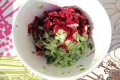 I love this gloriously vibrant beetroot tzatziki. I found these gorgeous mini beets in my local market…too cute… This is a Middle Eastern twist on regular tzatziki. You need a good quality thick greek yoghurt to get the best result. Just mix with grated cucumbers and grated cooked beetroot. The combination is quite wonderful. The …