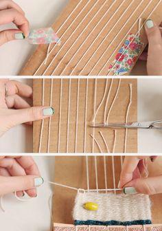 l'ho già fatto.   craftmaniaca (fallita) sin dalla tenera età, ho costruito telai per lana e perline utilizzando scatole di scarpe.   il t...