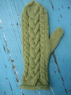 Ravelry: Braided Mittens pattern by Cathy Campbell
