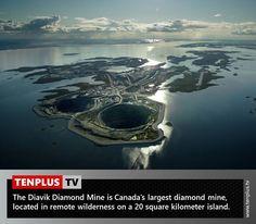 Fact of the day: Diavik Diamond Mine