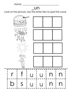 184 best Short Vowel Word Families images on Pinterest in