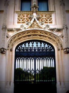 Front entrance of the Biltmore Estate