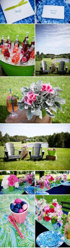 bridal shower idea | Pink Spring Bridal Shower Ideas, ideas and trends bridal showers ideas ...