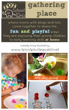 Tot School Gathering Place ~ Week 90