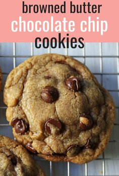 MJ's Top Secret Brown Butter Chocolate Chip Cookies. The best chocolate chip coo… – Typical Miracle Best Dessert Recipes, Fun Desserts, Cookie Recipes, Delicious Desserts, Healthy Recipes, Amazing Recipes, Chocolate Chip Cookies Rezept, Best Chocolate Chip Cookie, Chocolate Chocolate