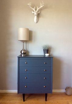 Mid-century dresser in #farrowandball #downpipe by bts interiors + concept store. Interior design + styling service coming soon... #finditpaintitloveit