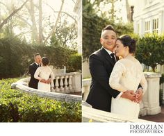 Beautiful winter wedding at #Vizcaya in #Sacramento #Drozian #Photoworks