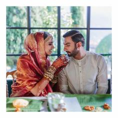 Deepika Padukone, Ranveer Singh share latest wedding pics from haldi, mehendi, Anand Karaj ceremonies. See 17 new photos Bollywood Couples, Bollywood Wedding, Bollywood Celebrities, Bollywood Actress, Bollywood Fashion, Bollywood Stars, Hindi Actress, Indian Celebrities, Deepika Ranveer