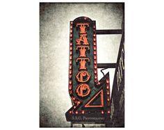 Tattoo Shop. Urban Photography. San Francisco. by SSCphotography #tattoo #giftfortattoolover #tattooobsessed #tattooshop
