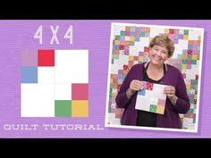 MSQC Tutorial - 4x4 Quilt