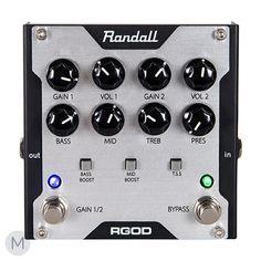 Randall RGod 2-Channel Pre-Amp Pedal